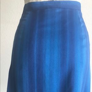 Missoni wrap pencil skirt in blue size 42/4